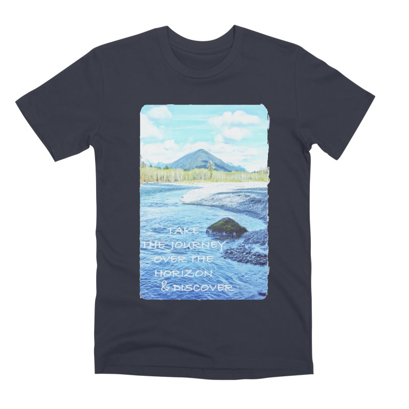 Take the Journey Men's Premium T-Shirt by Of The Wild by Kimberly J Tilley