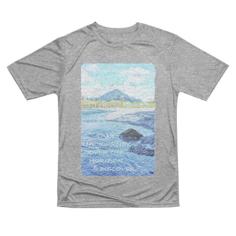 Take the Journey Women's Performance Unisex T-Shirt by Of The Wild by Kimberly J Tilley