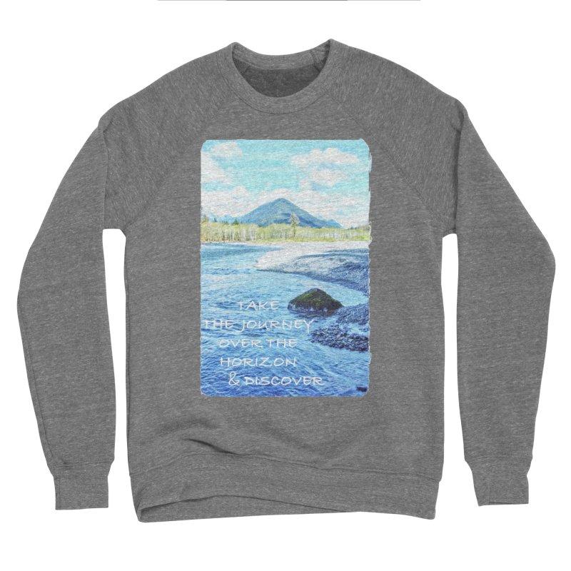 Take the Journey Men's Sponge Fleece Sweatshirt by Of The Wild by Kimberly J Tilley