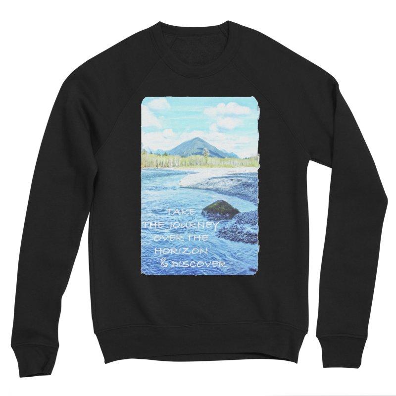Take the Journey Women's Sponge Fleece Sweatshirt by Of The Wild by Kimberly J Tilley
