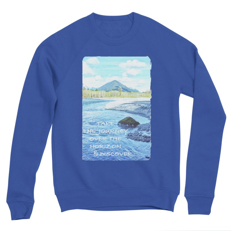 Take the Journey Men's Sweatshirt by Of The Wild by Kimberly J Tilley
