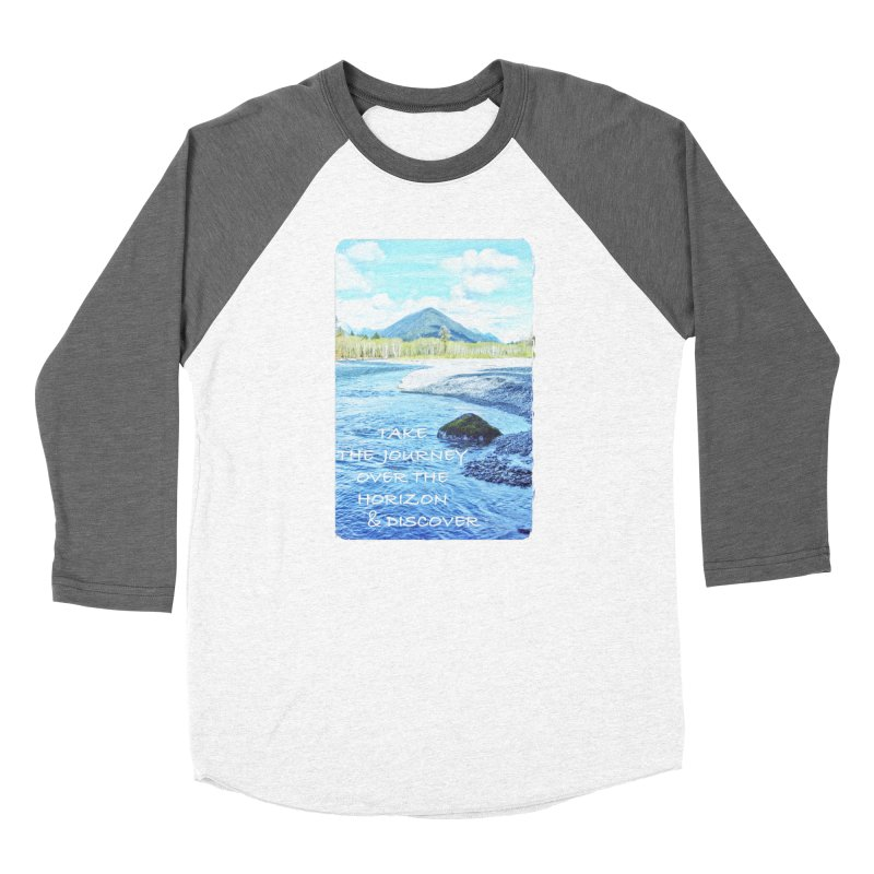 Take the Journey Women's Longsleeve T-Shirt by Of The Wild by Kimberly J Tilley