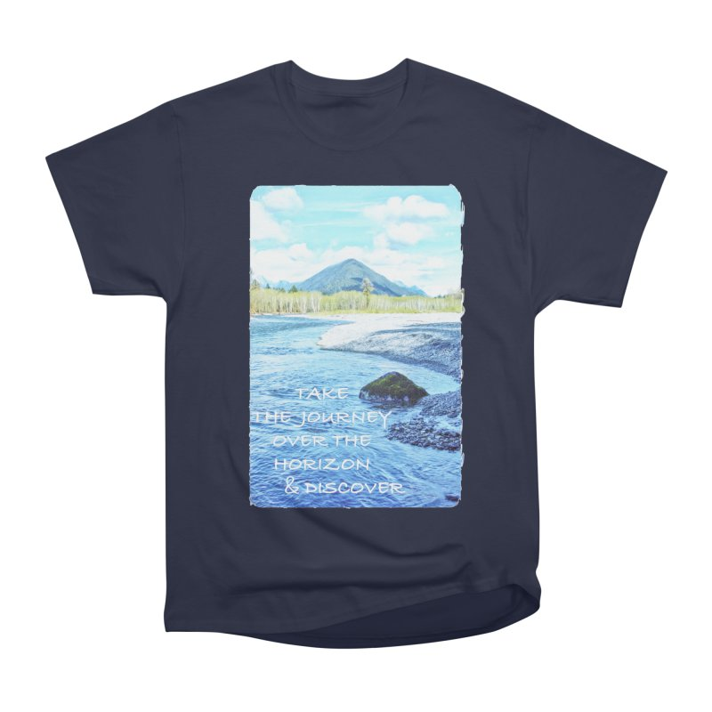 Take the Journey Men's Heavyweight T-Shirt by Of The Wild by Kimberly J Tilley