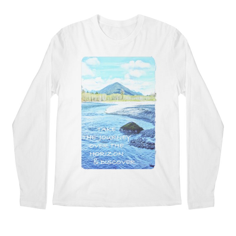 Take the Journey Men's Longsleeve T-Shirt by Of The Wild by Kimberly J Tilley
