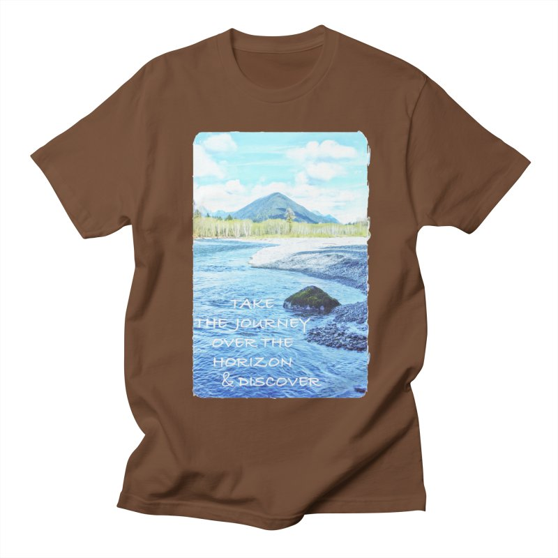 Take the Journey Women's Unisex T-Shirt by Of The Wild by Kimberly J Tilley
