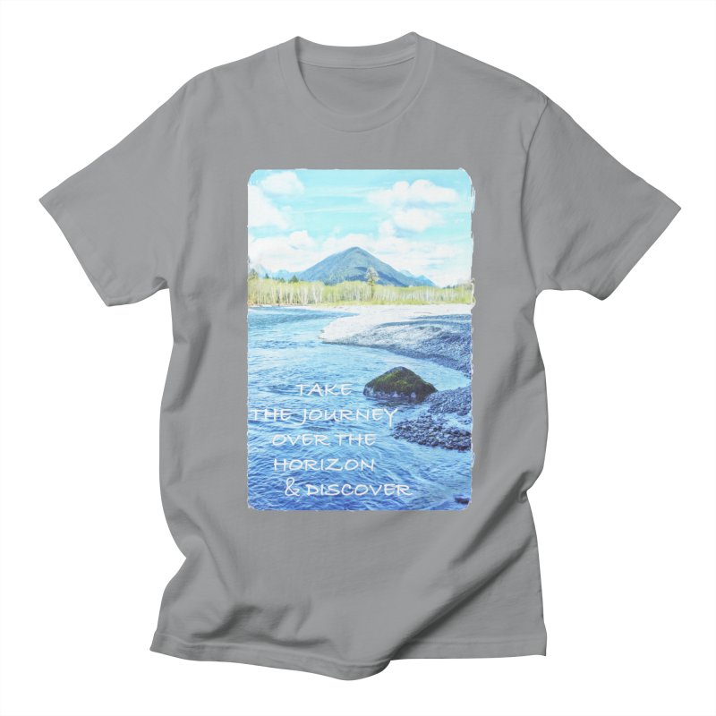 Take the Journey Women's Regular Unisex T-Shirt by Of The Wild by Kimberly J Tilley