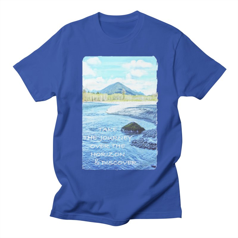 Take the Journey Men's T-Shirt by Of The Wild by Kimberly J Tilley