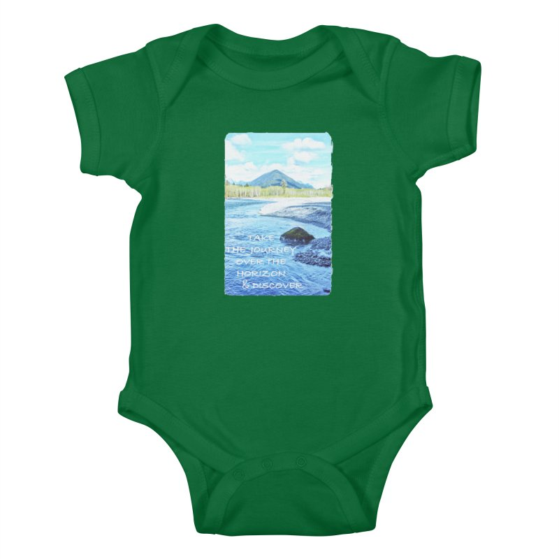 Take the Journey Kids Baby Bodysuit by Of The Wild by Kimberly J Tilley