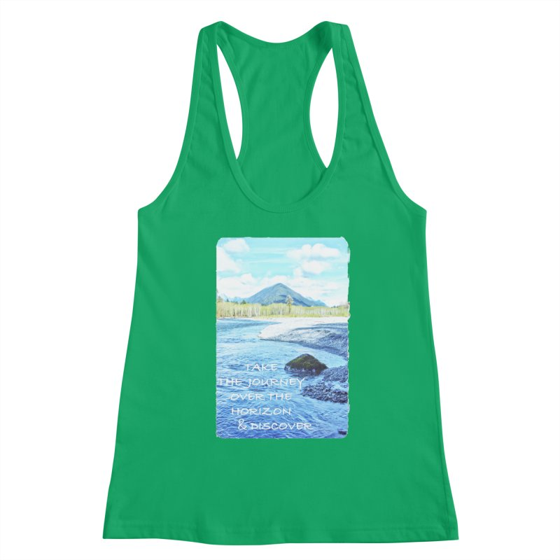 Take the Journey Women's Tank by Of The Wild by Kimberly J Tilley