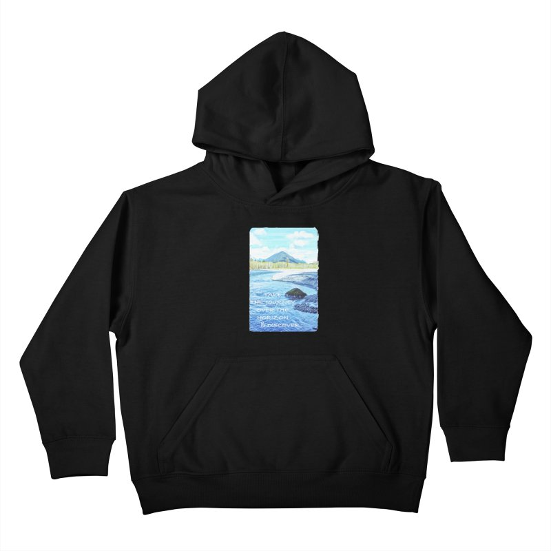 Take the Journey Kids Pullover Hoody by Of The Wild by Kimberly J Tilley
