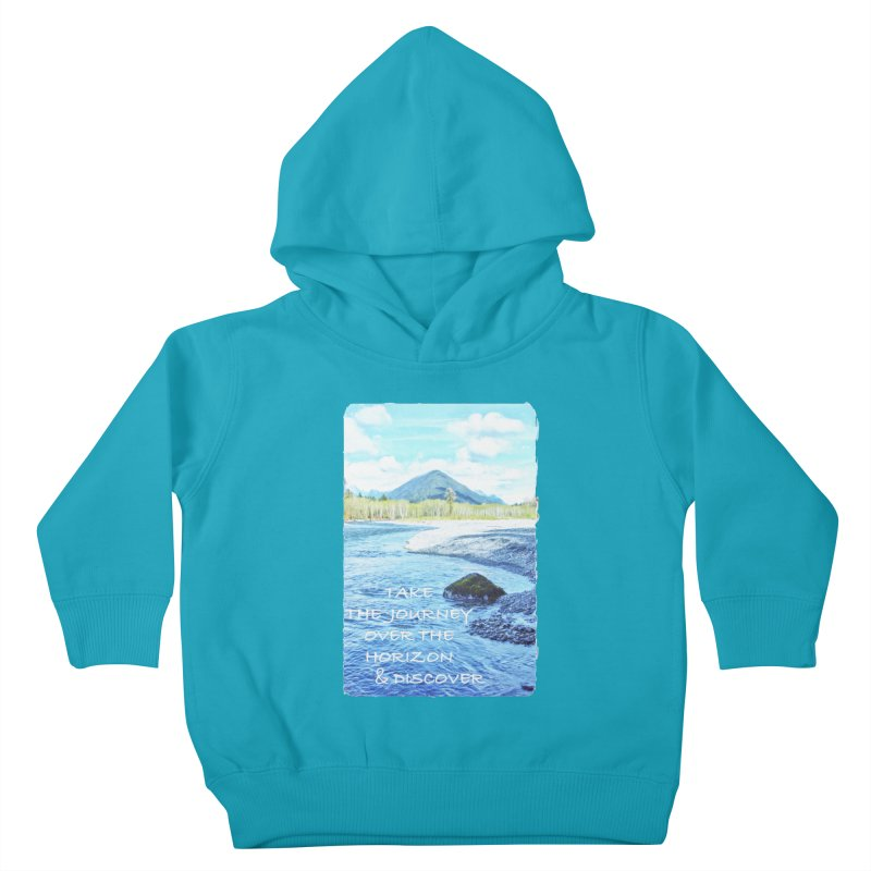 Take the Journey Kids Toddler Pullover Hoody by Of The Wild by Kimberly J Tilley