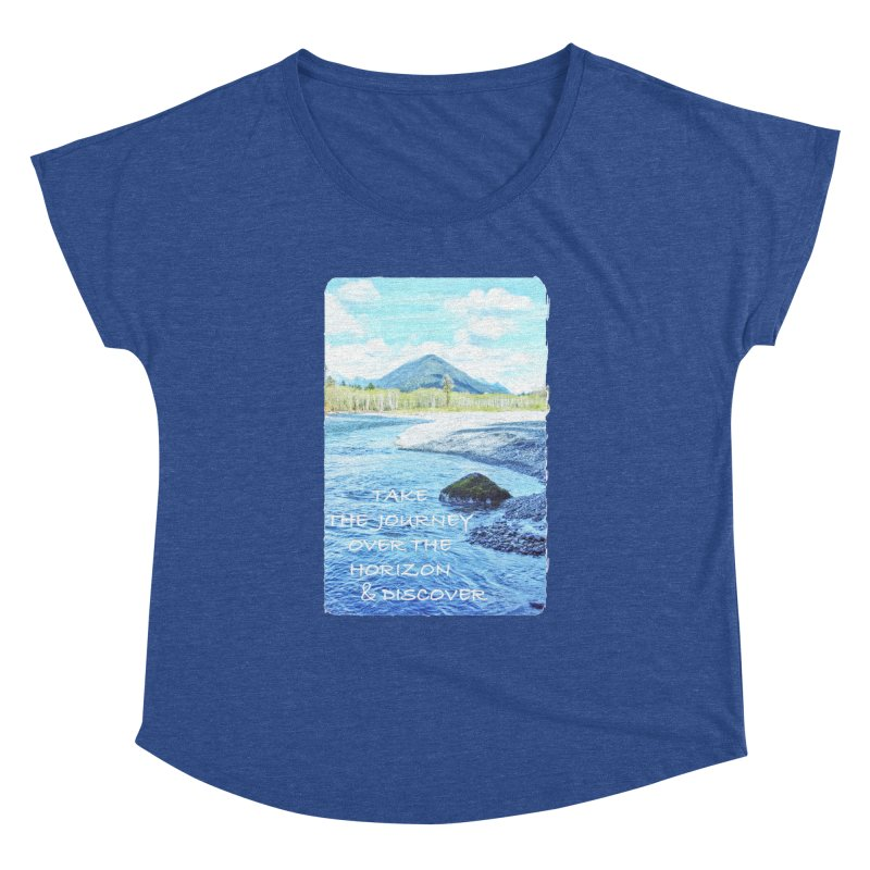 Take the Journey Women's Dolman by Of The Wild by Kimberly J Tilley