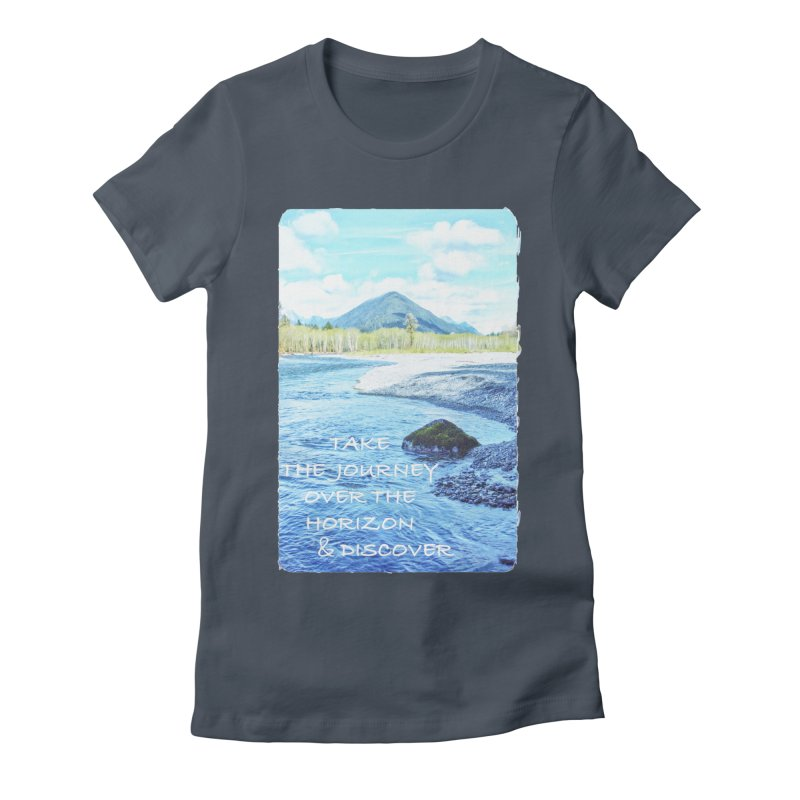 Take the Journey Women's T-Shirt by Of The Wild by Kimberly J Tilley