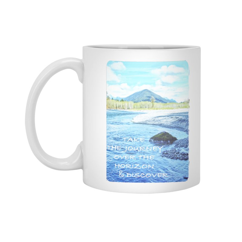 Take the Journey Accessories Mug by Of The Wild by Kimberly J Tilley
