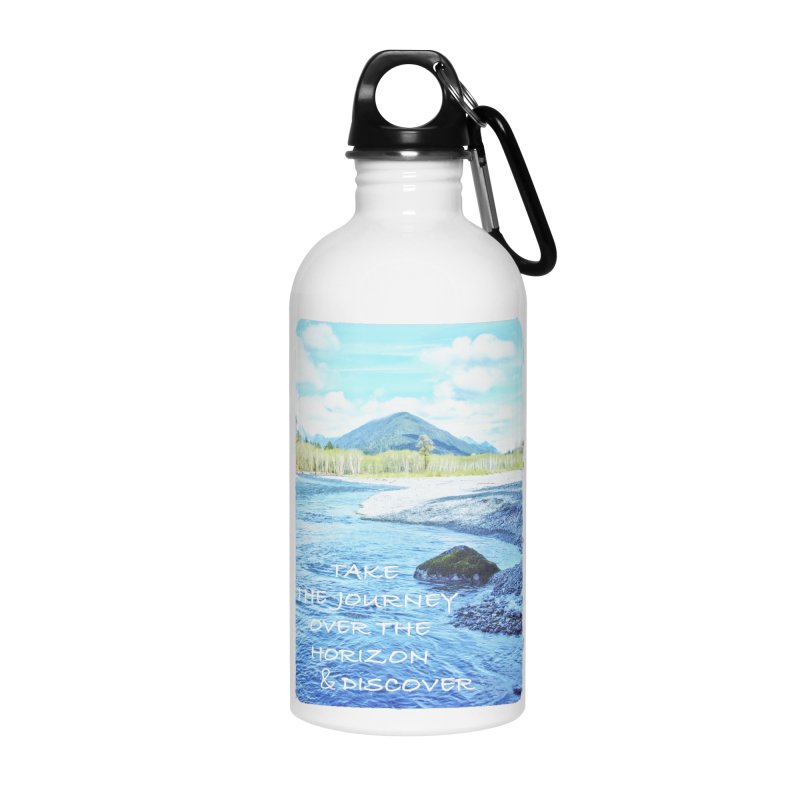 Take the Journey Accessories Water Bottle by Of The Wild by Kimberly J Tilley