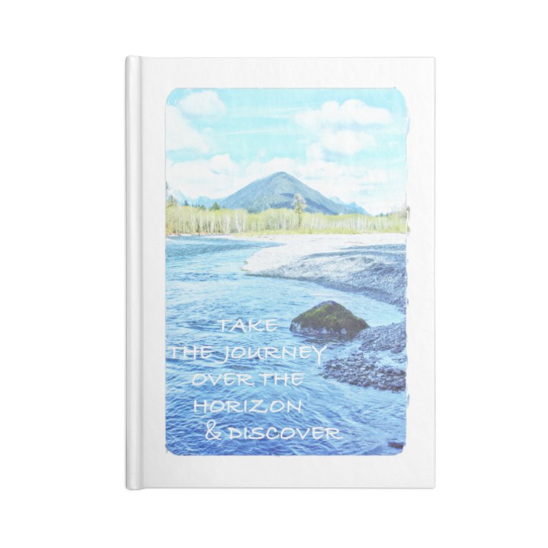 Take the Journey Accessories Blank Journal Notebook by Of The Wild by Kimberly J Tilley