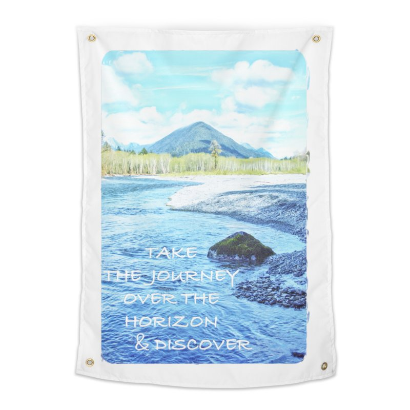 Take the Journey Home Tapestry by Of The Wild by Kimberly J Tilley