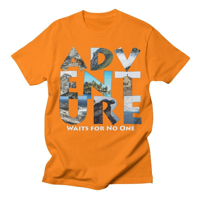Adventure Waits for No One Women's Regular Unisex T-Shirt by Of The Wild by Kimberly J Tilley