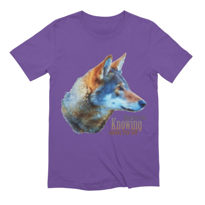 Knowing Men's Extra Soft T-Shirt by Of The Wild by Kimberly J Tilley