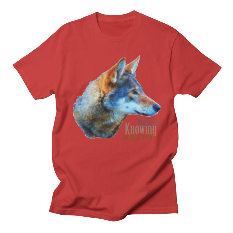 Knowing Women's Regular Unisex T-Shirt by Of The Wild by Kimberly J Tilley