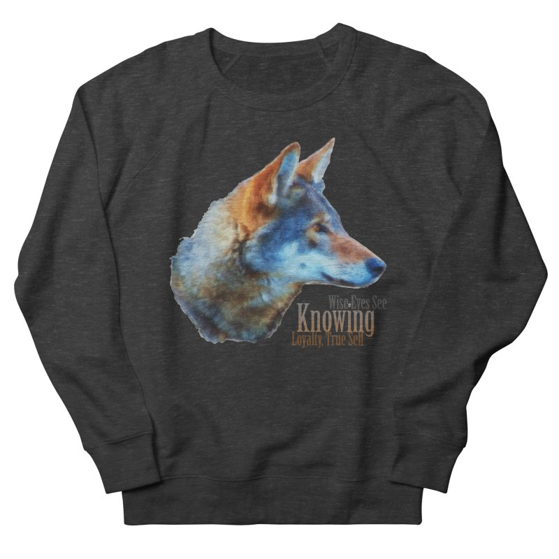 Knowing Women's French Terry Sweatshirt by Of The Wild by Kimberly J Tilley