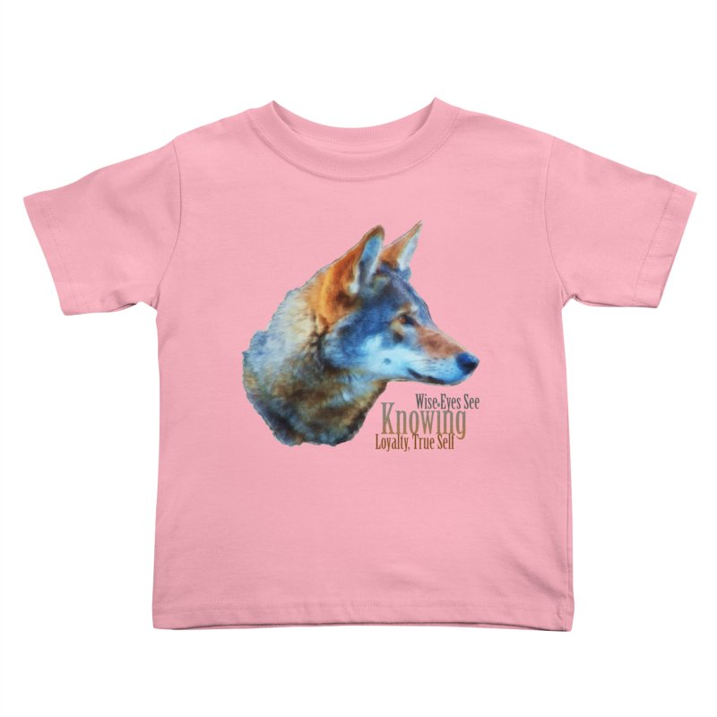 Knowing Kids Toddler T-Shirt by Of The Wild by Kimberly J Tilley