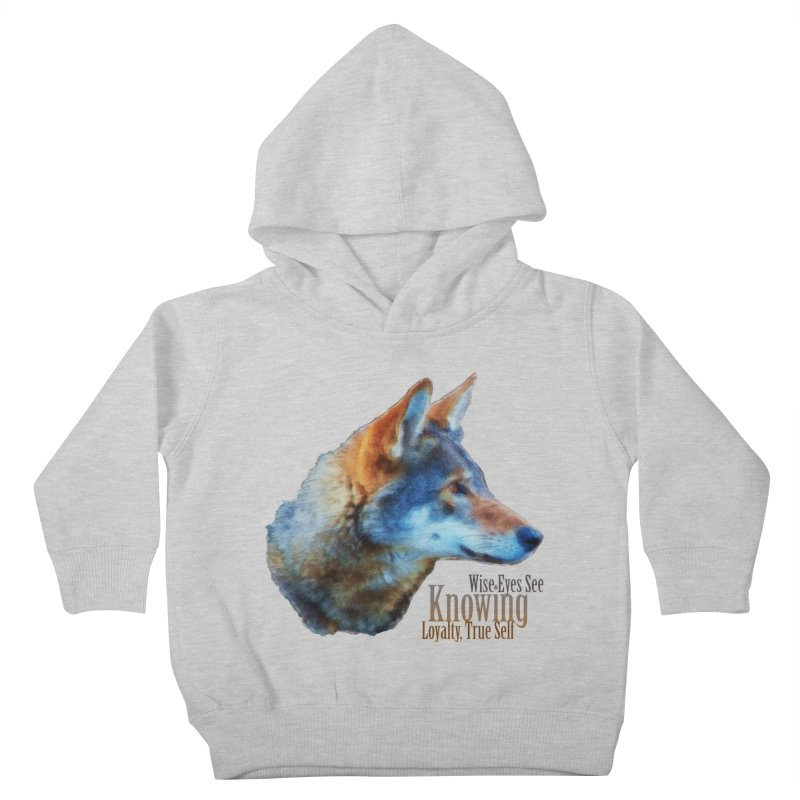Knowing Kids Toddler Pullover Hoody by Of The Wild by Kimberly J Tilley