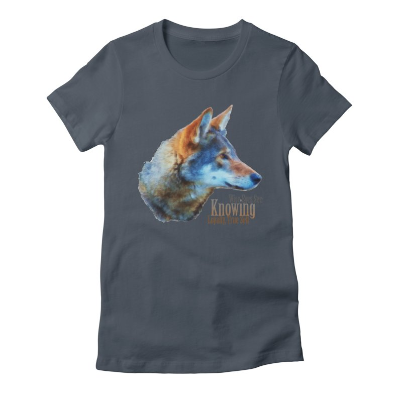 Knowing Women's T-Shirt by Of The Wild by Kimberly J Tilley