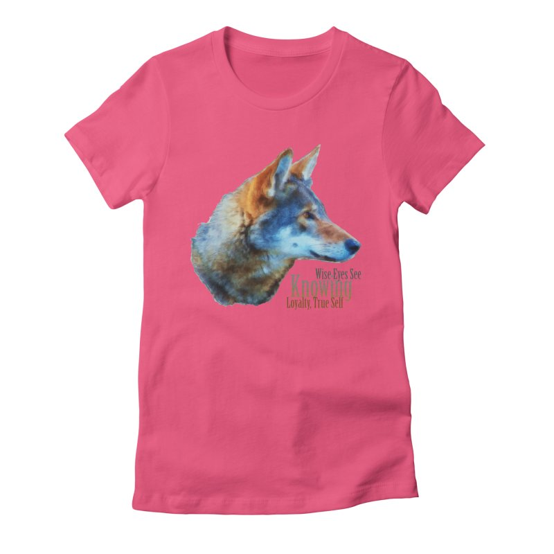 Knowing Women's Fitted T-Shirt by Of The Wild by Kimberly J Tilley