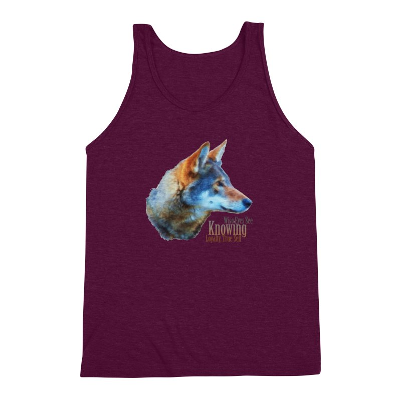 Knowing Men's Triblend Tank by Of The Wild by Kimberly J Tilley
