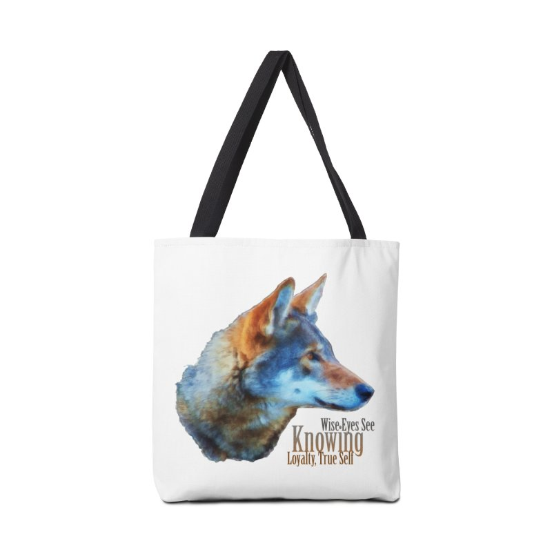 Knowing Accessories Tote Bag Bag by Of The Wild by Kimberly J Tilley