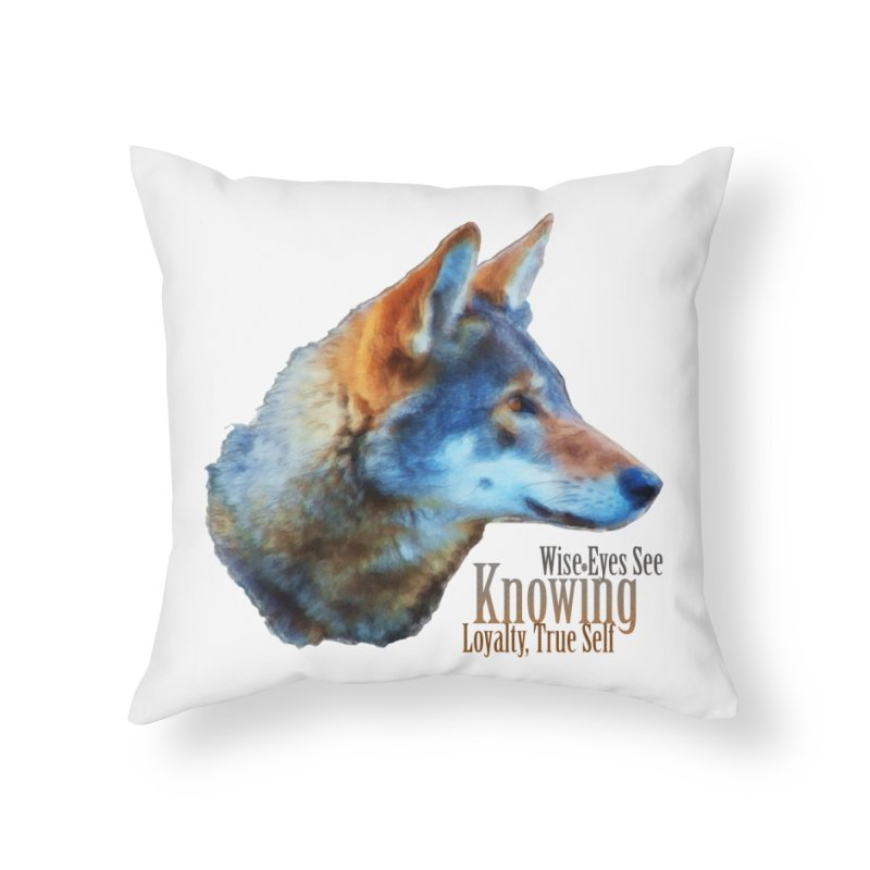 Knowing Home Throw Pillow by Of The Wild by Kimberly J Tilley