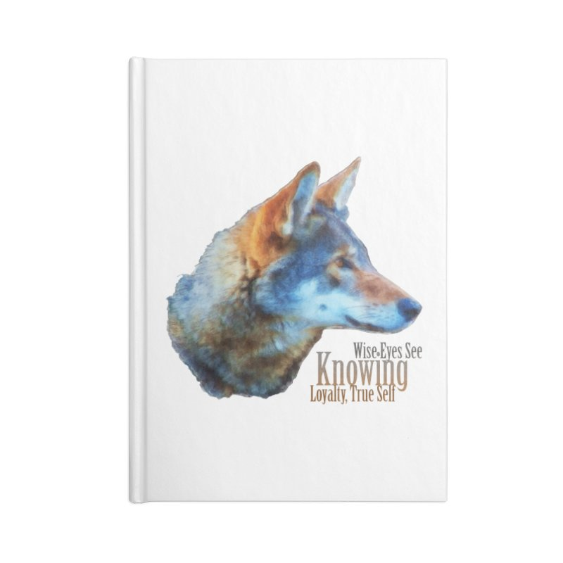 Knowing Accessories Blank Journal Notebook by Of The Wild by Kimberly J Tilley