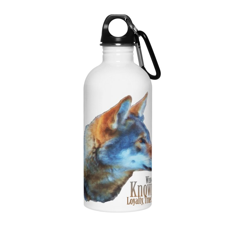 Knowing Accessories Water Bottle by Of The Wild by Kimberly J Tilley