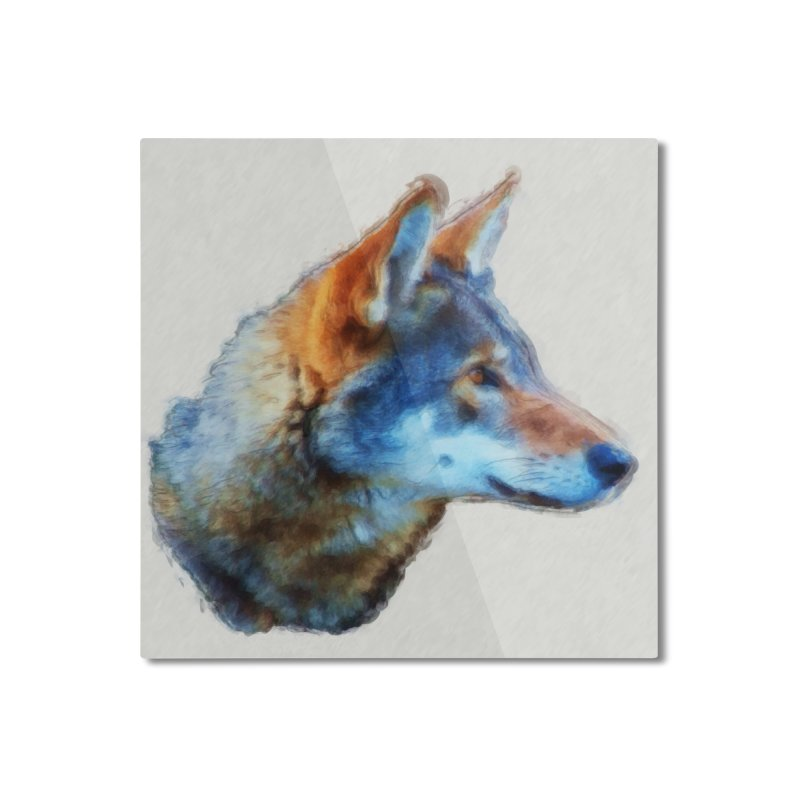 Knowing Home Mounted Aluminum Print by Of The Wild by Kimberly J Tilley