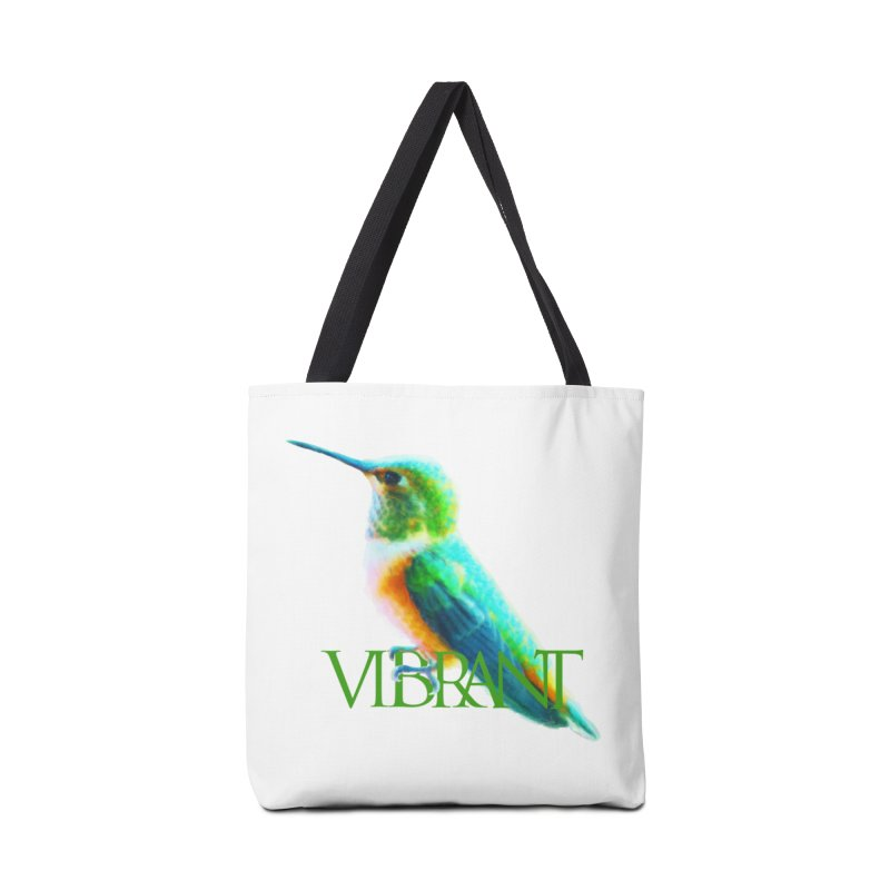 Young and Vibrant Accessories Tote Bag Bag by Of The Wild by Kimberly J Tilley