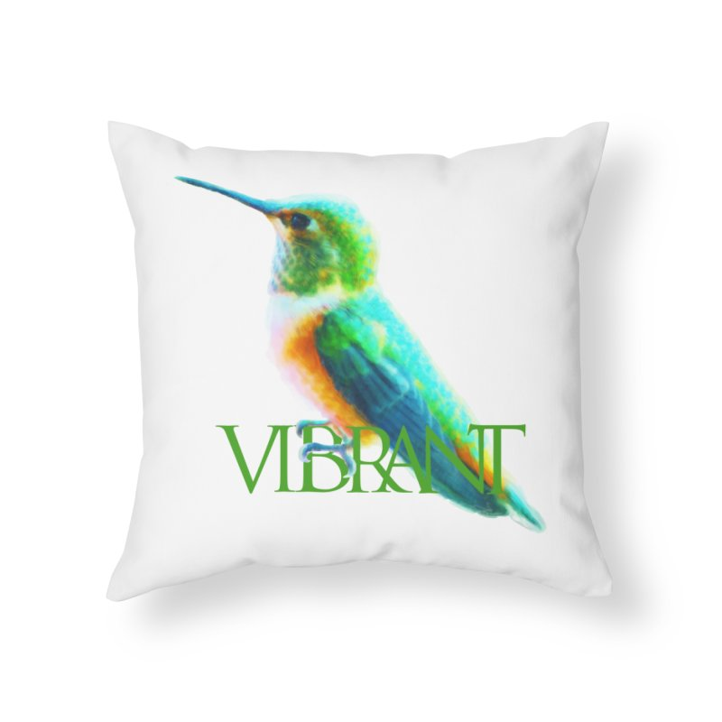 Young and Vibrant Home Throw Pillow by Of The Wild by Kimberly J Tilley