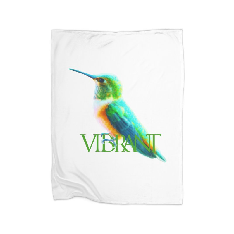 Young and Vibrant Home Blanket by Of The Wild by Kimberly J Tilley