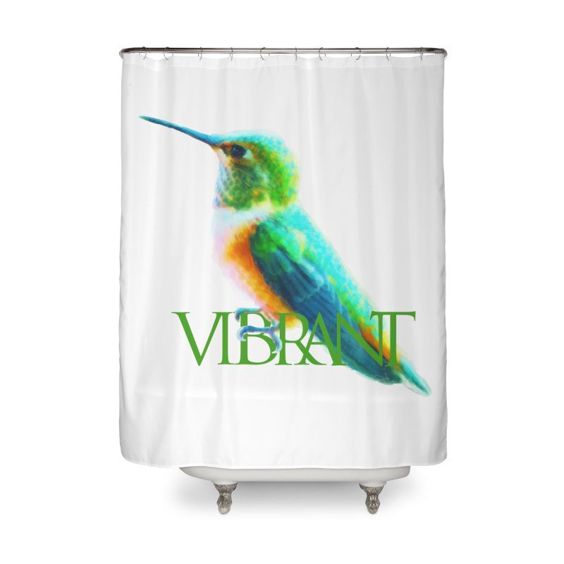 Young and Vibrant Home Shower Curtain by Of The Wild by Kimberly J Tilley