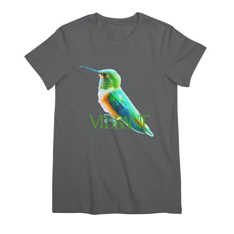 Young and Vibrant Women's Premium T-Shirt by Of The Wild by Kimberly J Tilley