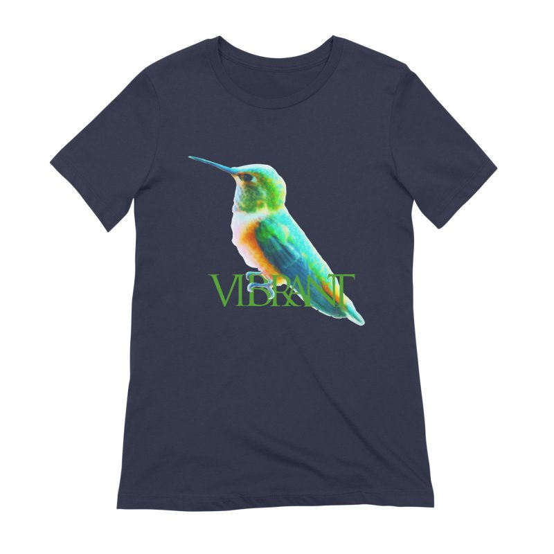 Young and Vibrant Women's Extra Soft T-Shirt by Of The Wild by Kimberly J Tilley