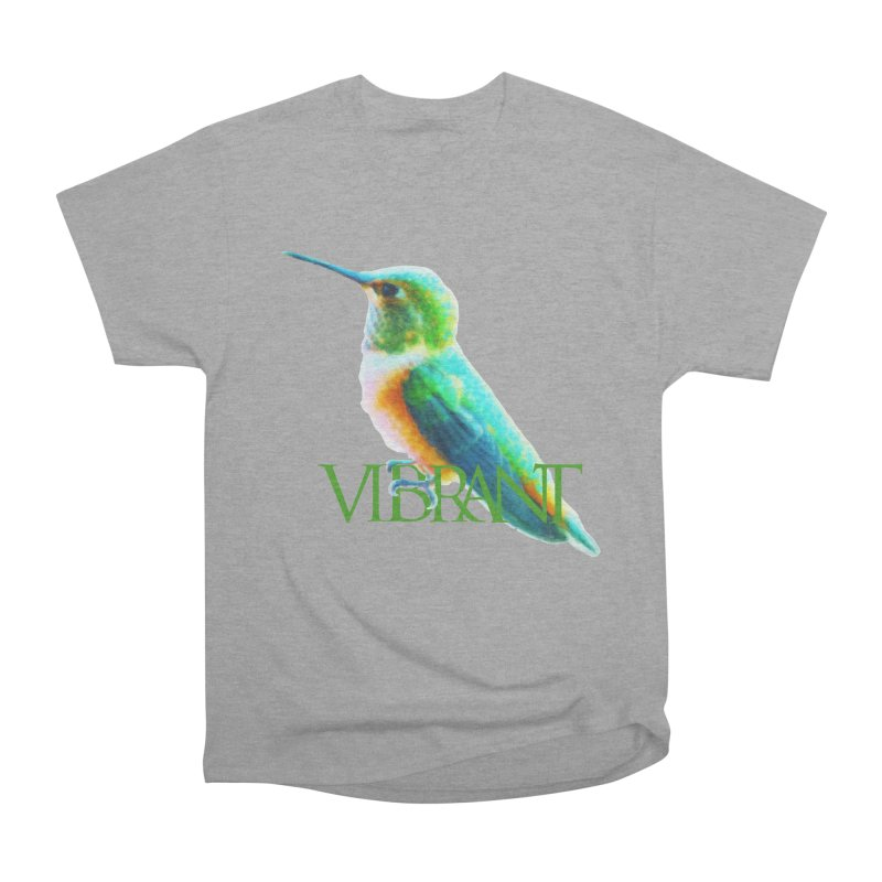 Young and Vibrant Women's Heavyweight Unisex T-Shirt by Of The Wild by Kimberly J Tilley