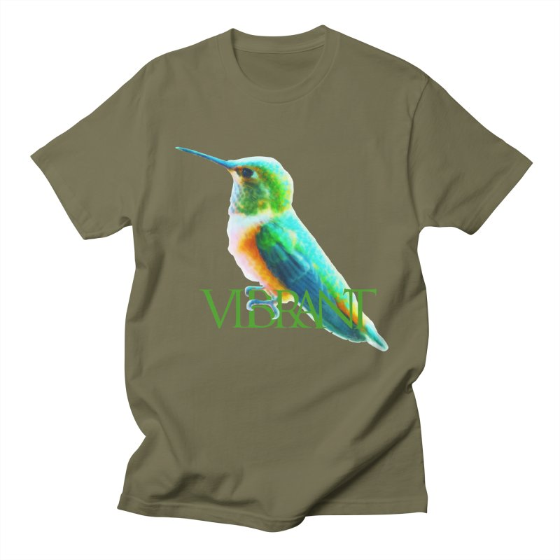 Young and Vibrant Women's Regular Unisex T-Shirt by Of The Wild by Kimberly J Tilley