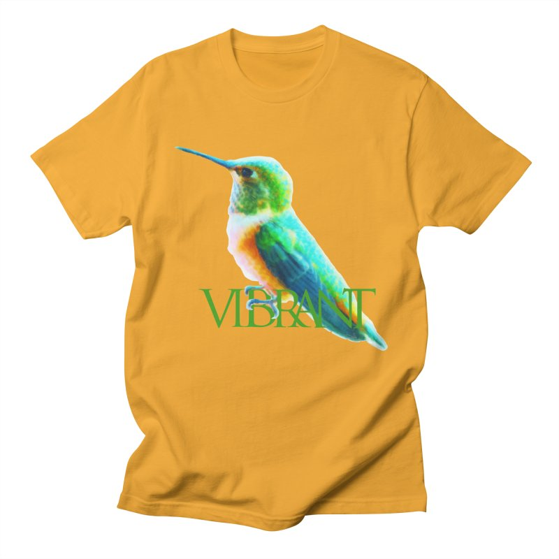 Young and Vibrant Men's Regular T-Shirt by Of The Wild by Kimberly J Tilley
