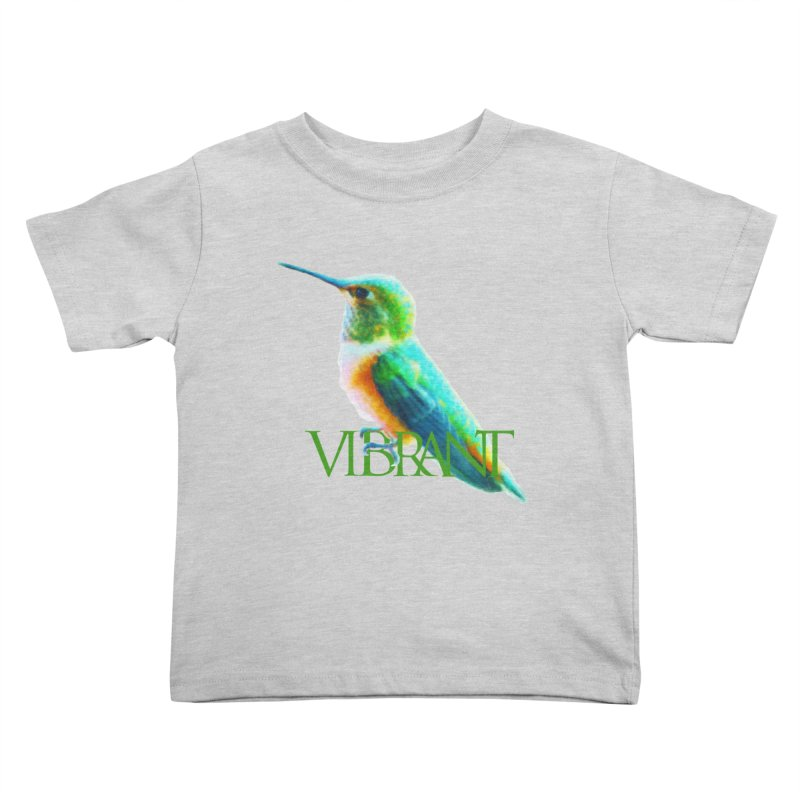 Young and Vibrant Kids Toddler T-Shirt by Of The Wild by Kimberly J Tilley