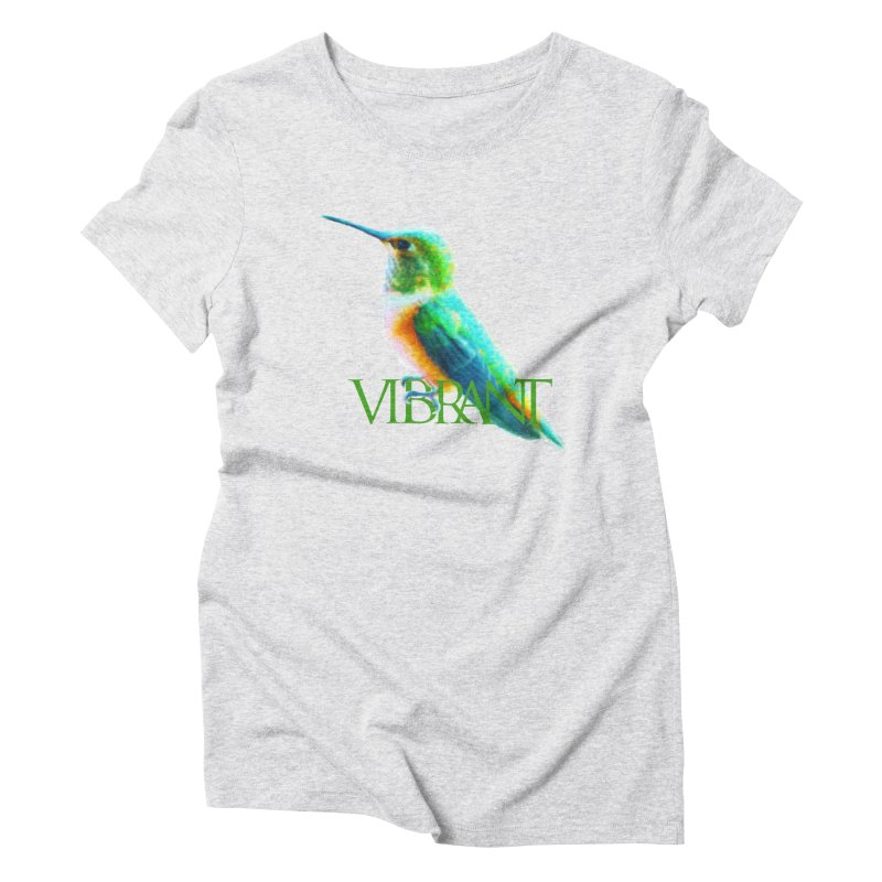 Young and Vibrant Women's T-Shirt by Of The Wild by Kimberly J Tilley