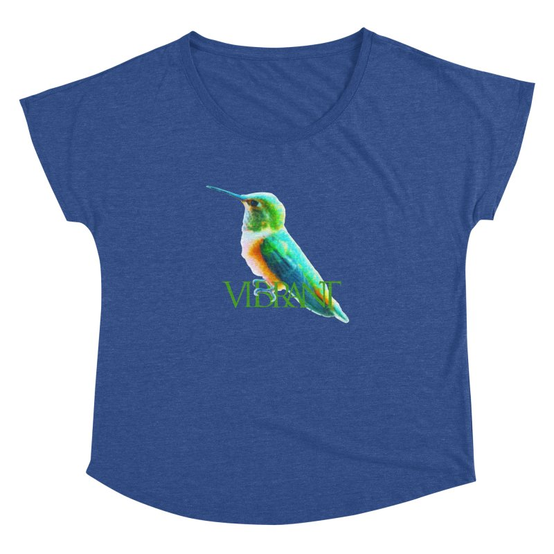 Young and Vibrant Women's Dolman Scoop Neck by Of The Wild by Kimberly J Tilley