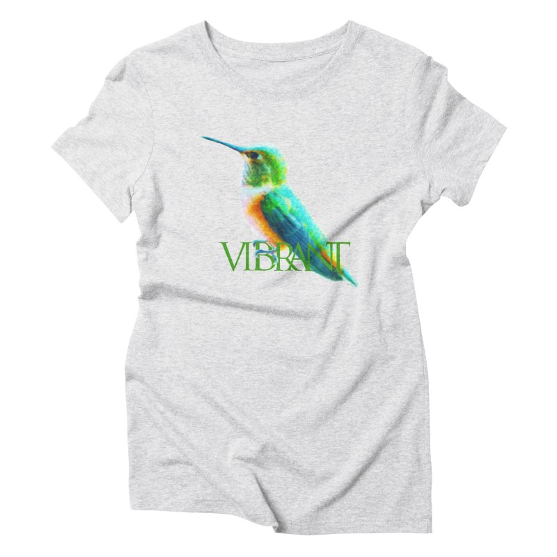 Young and Vibrant Women's Triblend T-Shirt by Of The Wild by Kimberly J Tilley