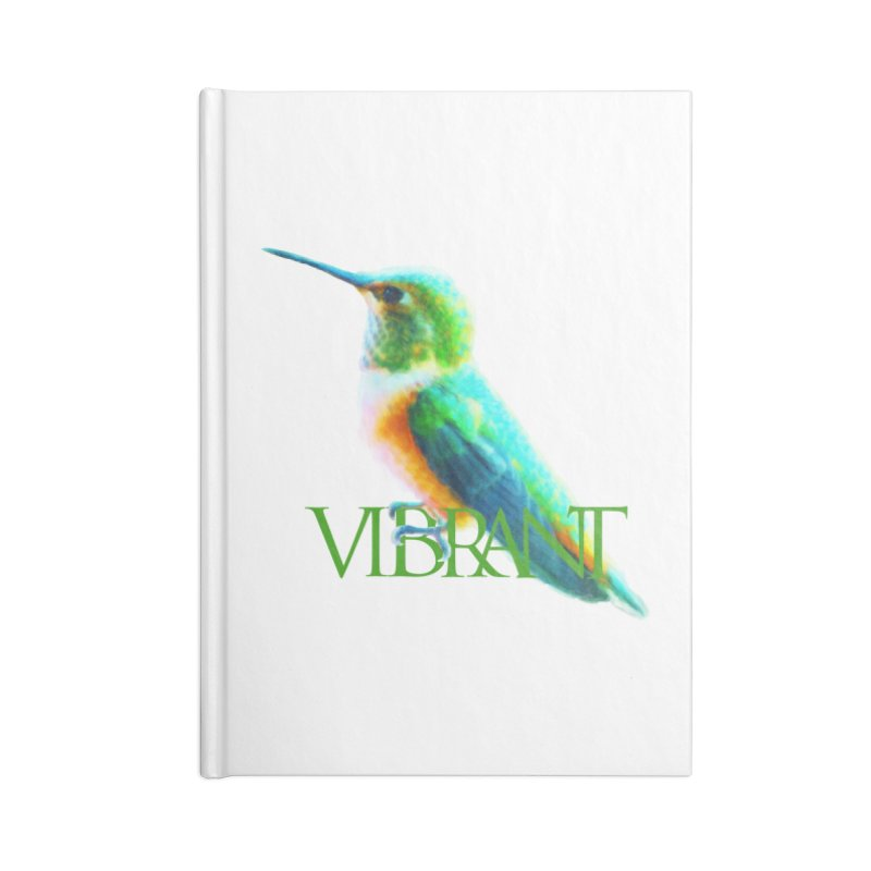 Young and Vibrant Accessories Blank Journal Notebook by Of The Wild by Kimberly J Tilley