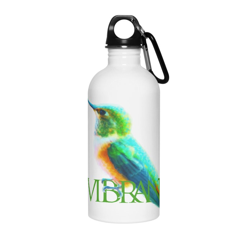 Young and Vibrant Accessories Water Bottle by Of The Wild by Kimberly J Tilley